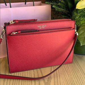 kate spade zip cross body bag